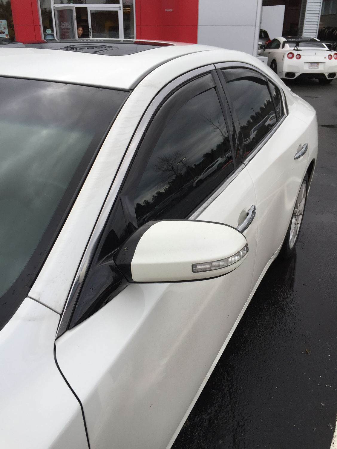 Weathertech Window Deflectors And Nissan All Weather