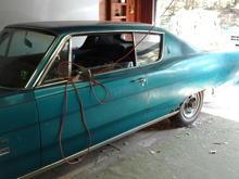 1968 Plymouth sport fury 318 auto a/c