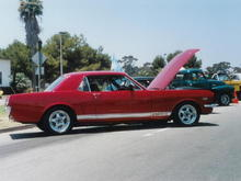 1996, Won best of show at NAS North Island's First Annual Car Show.