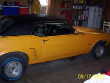 a shot before I took it to strip my new paint and shoot it again this time with no orange peel