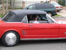 Rosie's Mustang