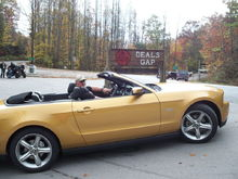 My 2010 GT Vert at Tail of the Dragon - Deals Gap, Oct 2009