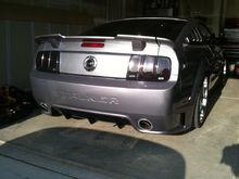 Stalker rear bumper