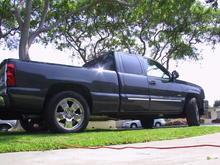 Garage - Mike's truck