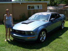 HMG By here 2005 Mustang V6 Convert, bought it for her new in 2006. Its her baby......