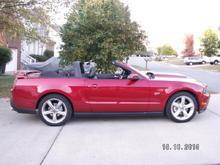 My 2010 GT Premium Vert
