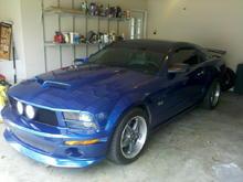 Garage - Crystal Blue