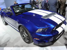 2013 Shelby GT 500 Convertible
