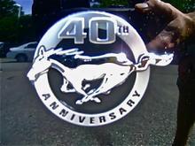 40th Emblem