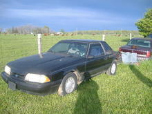 91 mustang drivers side