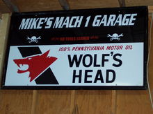 Mike's Mach 1 garage