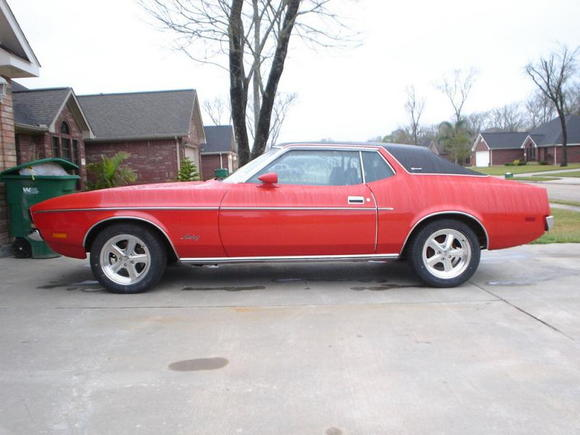 72 Mustang Mod 001