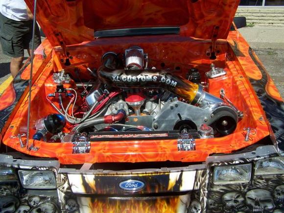 custon paint shop car