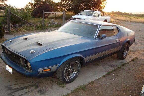 1973 Mach I H code