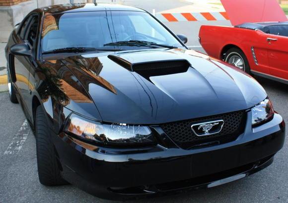 2003 Black Mustang Gt