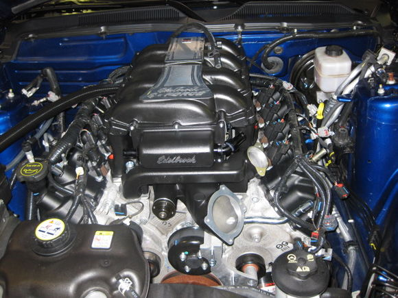 My Edelbrock E force Supercharger Install(resized) 064