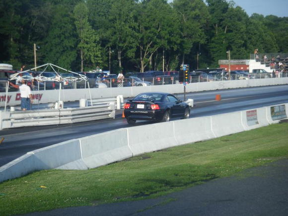 13.54 at 102.86 on drag radials