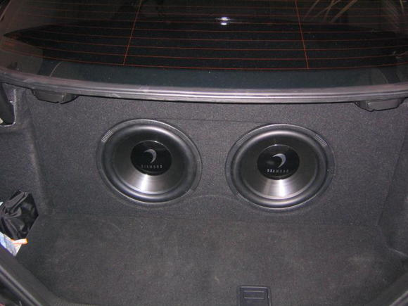 "2007 Mercedes C55 AMG (2-12"" diamond audio, nothing to fancy)"