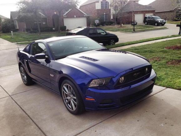 Blue GT