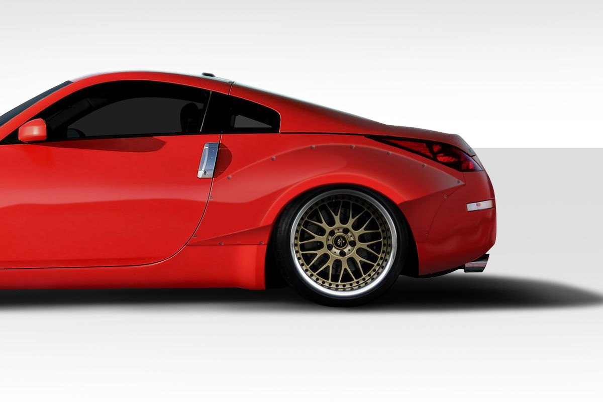 All New Duraflex Frp 60mm Front 90mm Rear Over Fenders My350z Com Nissan 350z And 370z