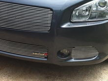 Custom 4pc Billet Grille in Chrome with NISMO badge