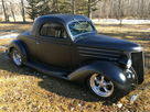 '36 Ford 3 Window Rod All-Steel Cpe Reduced $54K