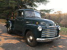 1953 Chevy 3100 Short Bed, Five Window, Pick-up