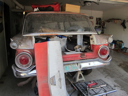 1959 Ford 2 Dr Wagon Project
