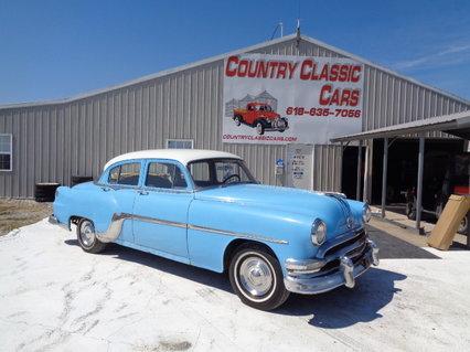 1954 Pontiac 4dr sedan
