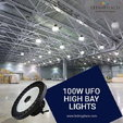 Use 100W LED High Bay Light for Indoor Gym Lighting Purpose  for sale $83