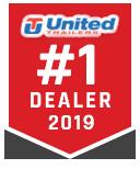 2019 United 8.5X28 Sprint Car Trailer Extra Height #5215