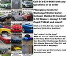 S-10 Mustang, Camaro, Malibu, Monte Carlo, El Camino Ranger   for sale $270