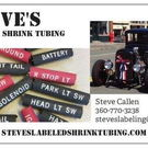 Steve's Labeled Shrink Tubing