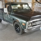 1970 C10 Twin Turbo Rat Rod