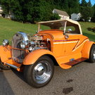 1929 Ford  Roadster Chevy 350 engine/trans. /Ford nine inch.