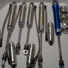 4 Rebuilt AFCO Silver Series Double Adjustable Shocks