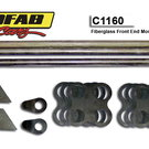 Autofab Fiberglass Front End Mounting Kit