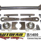 Autofab Extreme Duty Anti Roll Bar Kit 4130 CM