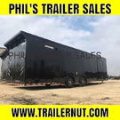 32 Blacked Out Race trailer LOADED race trailer