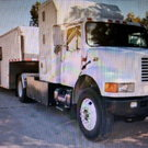International 4900 DT 466 Tow Vehicle W / Recent Turbo &