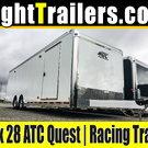 8.5x28 ATC Quest | Race Car Trailer
