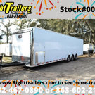 2021 Pro Stock Elite 34' Trailer - Dragster Lift - Loaded