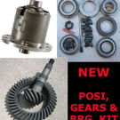 "GM 7.5"" 10 Bolt TrueTrac POSI - GEARS - BEARING KIT PAC"