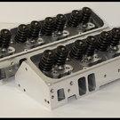 SBC CHEVY NKB-200cc ALUMINUM HEADS STEAM HOLES 64cc 274-SH