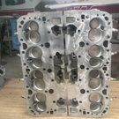 2 Used GM BOW-TIE Aluminum Racing Heads