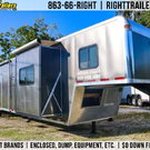 LIKE NEW 2014 Vintage 50ft Living Quarters - SLIDEOUT