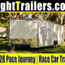 8.5x28 Pace American | Race Car Trailer - $12,999