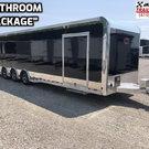 2020 Sundowner 8.5X32 Car/Race Trailer W/Bathroom Pkg. #3835