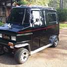 88' Cushman Custom Delivery Van Street Legal