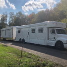 04 United Specialties Toter and 35' Haulmark Pro Line
